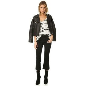 L'AGENCE  Jeans Sophia High Rise Crop flare